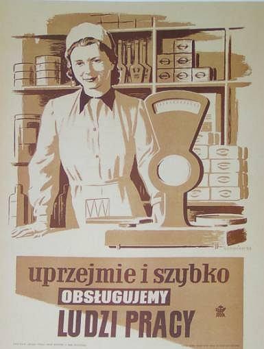 Uprzejmie i szybko obsługujemy ludzi pracy / fot.spodlady.com