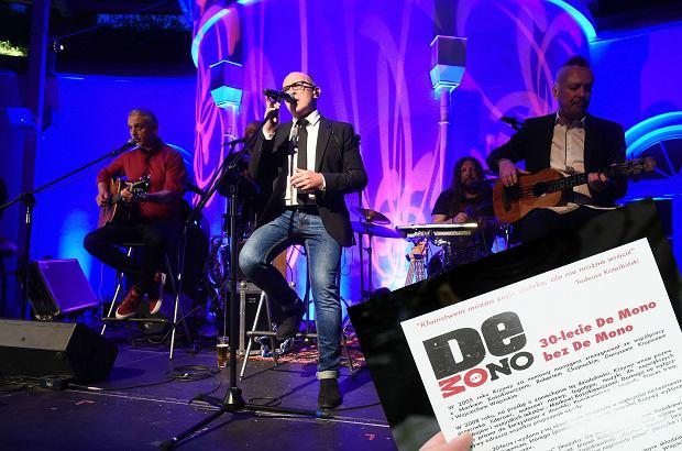 Na jubileuszowym koncercie De Mono doszło do skandalu, który jest skutkiem trwającego od lat konfliktu między Andrzejem Krzywym a resztą muzyków. Rozdano ulotki torpedujące imprezę.