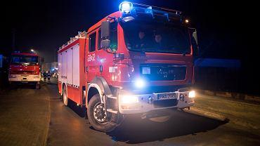 Wóz strażacki [zdjęcie ilustracyjne]