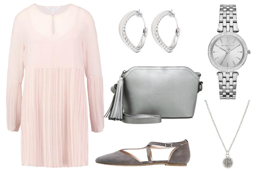 Sukienki oversize elegancko / mat. partnera