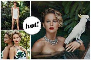 """Zmysłowa Jennifer Lawrence w """"Vanity Fair"""" pierwszy raz o kradzieży jej nagich zdjęć: Byłam przerażona! Bałam się, jak to wpłynie na moją karierę... [ZDJĘCIA]"""