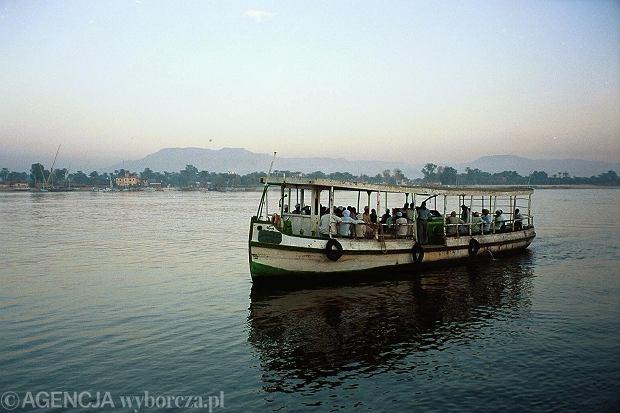Nil w Luksorze