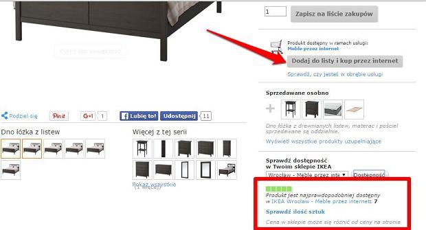 ikea uruchomi a zakupy przez internet na razie we wroc awiu a ju wkr tce w ca ej polsce. Black Bedroom Furniture Sets. Home Design Ideas