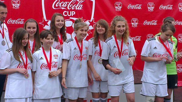 Zwycięski zespół dziewczynek -ZSG Jelna
