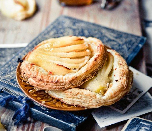 Ciasta z jab�kami i gruszkami
