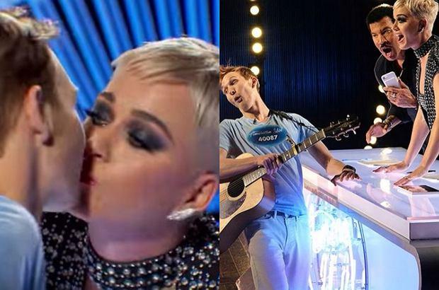"""W niedzielę wystartowała 16. edycja amerykańskiej wersji """"Idola"""". Nowa jurorka programu, Katy Perry, pocałowała z zaskoczenia jednego z uczestników, co spotkało się z dużą dezaprobatą widzów."""
