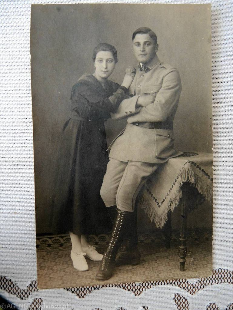 Margarethe i Ludwig Kasner (Kaźmierczak), dziadkowie Angeli Merkel