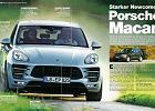 Porsche Macan | Tu� przed premier� | Dane techniczne