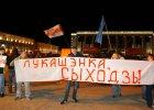 Demonstracja na ulicach Mi�ska po wygranej �ukaszenki w wyborach