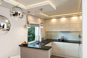 Kuchnia - strefa odpowiednio oświetlona