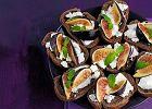 Tartinki z serem kozim i figami