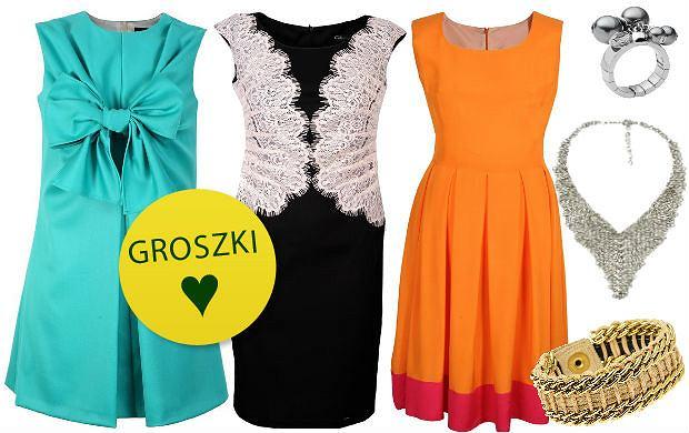 """Modne sukienki i dodatki na wesele - kolorowe, eleganckie sukienki oraz niezawodna """"ma�a czarna"""""""
