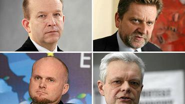 Konstanty Radziwiłł, Wiceminister Jarosław Pinkas, Wiceminister Krzysztof Łanda,  Wiceminister Piotr Gryza