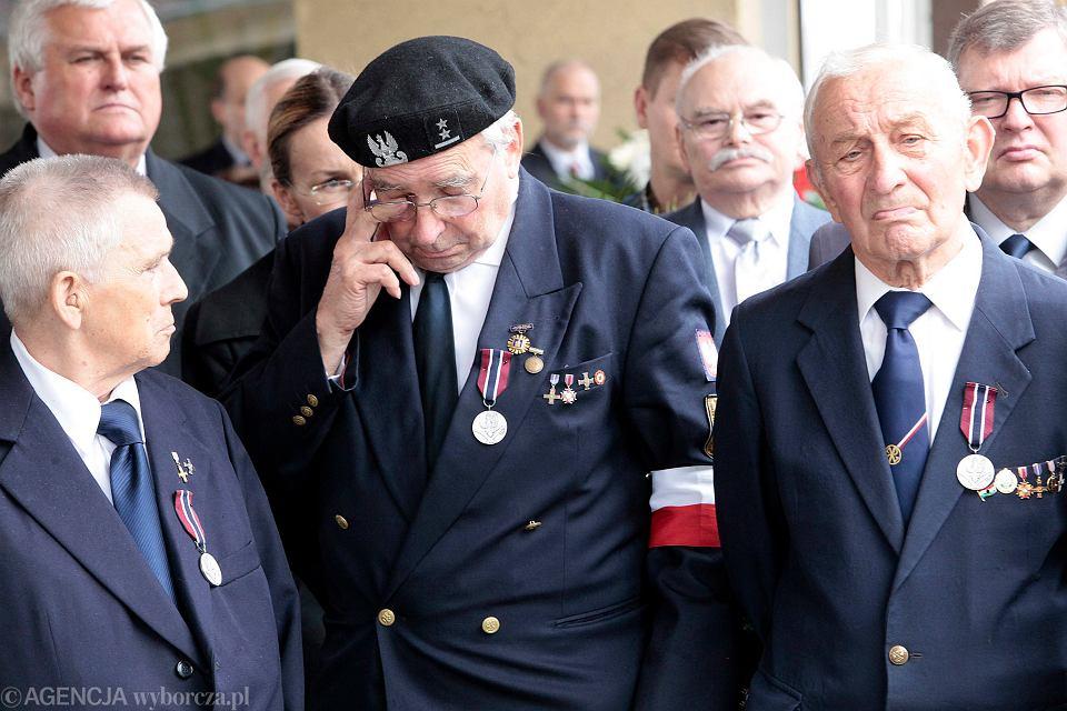 Obchody rocznicy Czerwca 1956 w zeszłym roku - na zdjęciu uczestnicy wydarzeń sprzed 60 lat