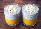 Prosty przepis: pudding chia z musem z roszponki i mango