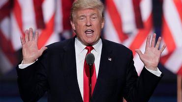 Trump chce prawa i porządku. O tym krzyczał na konwencji Republikanów