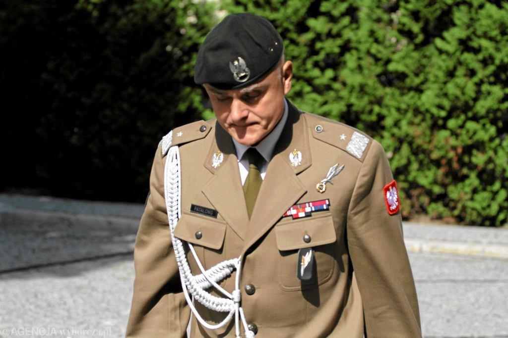 Generał Piotr Patalong (fot. Sławomir Kamiński/Agencja Gazeta)