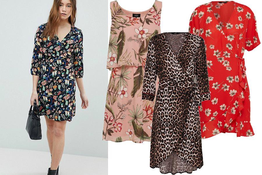 Sukienki we wzory ONLY