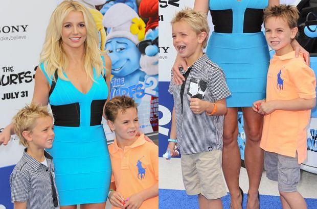 Britney Spears ma dwóch synów. Ani się obejrzeliśmy, a chłopcy wyrośli i są teraz urodziwymi nastolatkami.