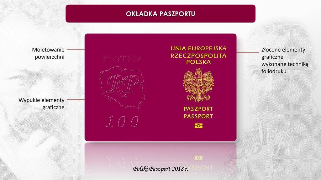 Wzór nowego paszportu