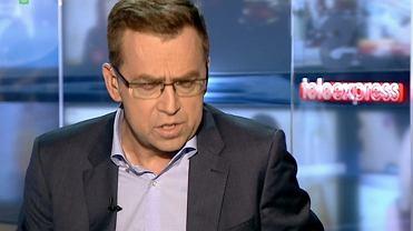 Maciej Or�o� si� �egna z widzami Teleexpressu: Musz� powiedzie� co� ca�kiem serio