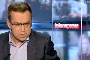 """Maciej Or�o� po�egna� si� z widzami """"Teleexpressu"""": Musz� powiedzie� co� ca�kiem serio"""