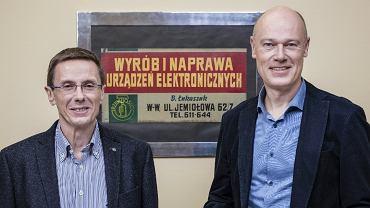 Sławomir Lange i Bogdan Łukaszuk