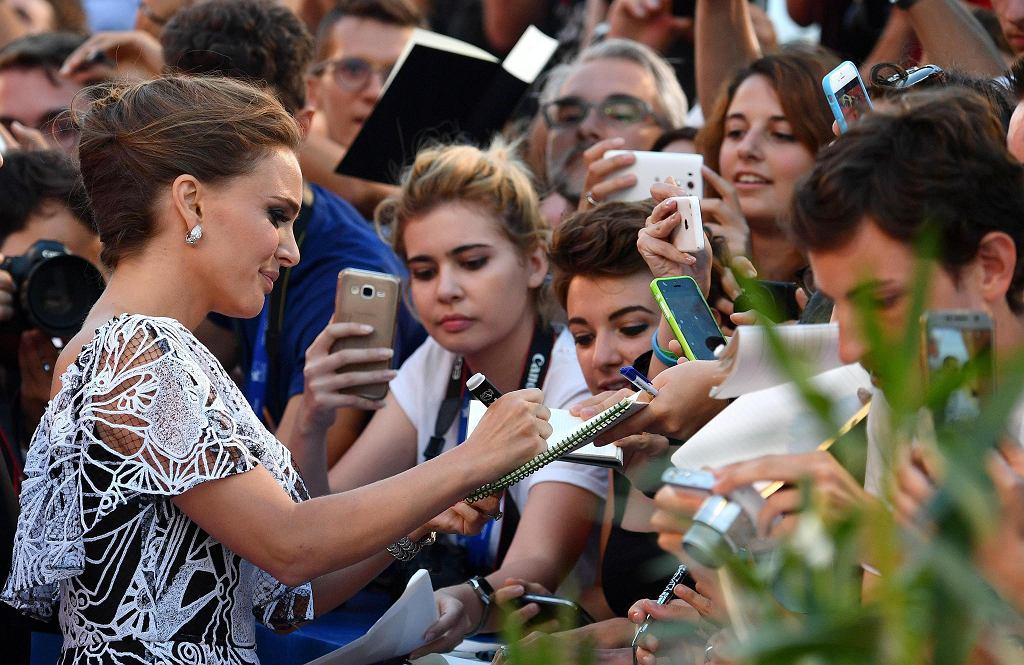 Natalie Portman na festiwalu filmowym w Wenecji, 2016