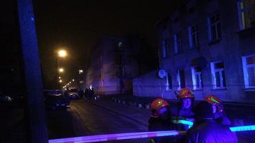 W piątkowy wieczór na ul. Przemysłowej w Łodzi doszło do wybuchu