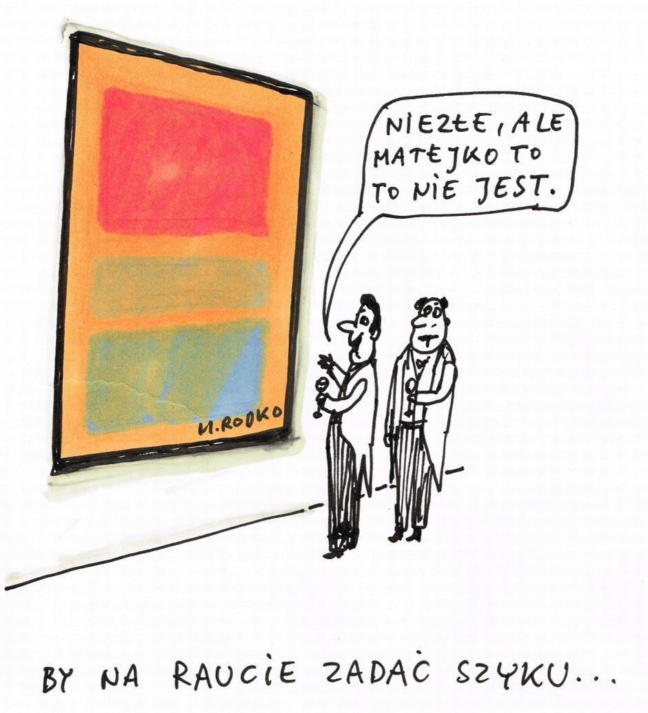 Raczkowski o sztuce - null