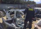 Bydgoscy policjanci zlikwidowali 'dziuplę' samochodową