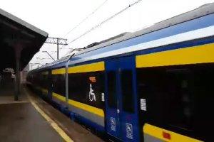 Inauguracyjny przejazd nowej kolejki SKM