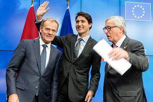Podpisanie umowy CETA między UE a Kanadą