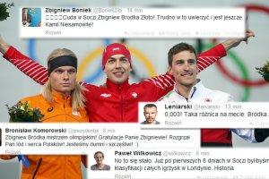 """Soczi 2014. Bródka złoty, Twitter świętuje! """"To jak wyprodukować ferrari w kraju furmanek"""""""