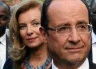 B. pierwsza dama Francji napisa�a ksi��k�, kt�ra niszczy popularno�� prezydenta Hollande'a