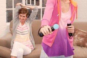 Gry ruchowe - zumba i fitness przed telewizorem