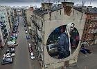 Murale w Warszawie - tak wyglądają na zdjęciach zrobionych z drona