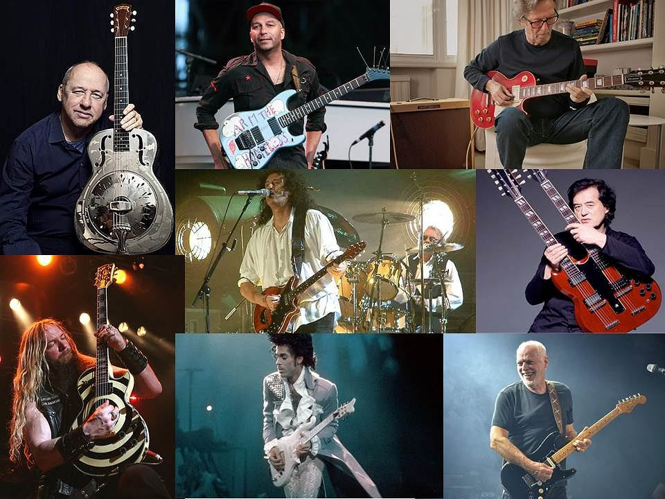 Sklejka Najbardziej znanych gitar