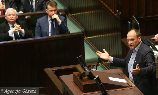 Paweł Kukiz u prezydenta Andrzeja Dudy. Prosił o weto ustaw o KRS i o ustroju sądów powszechnych