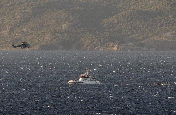 Tragedia na Morzu Egejskim. Dwie �odzie zaton�y, 21 imigrant�w nie �yje