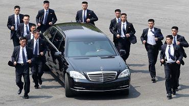 Kim Dzong Un na szczycie koreańskim
