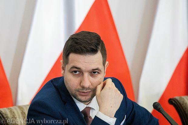 Patryk Jaki (fot. Dawid Żuchowicz/AG)