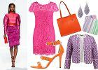 Sukienka w kolorze fuksji