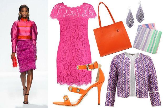 Sukienka w kolorze fuksji - z czym ją łączyć? Gotowe stylizacje