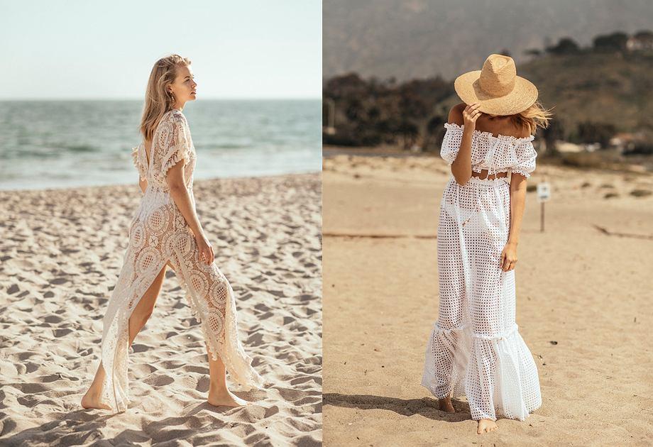 Bizuu MER 2018 - sukienki plażowe w długości maxi