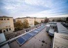 Nowe laboratorium AGH z panelami na dachu