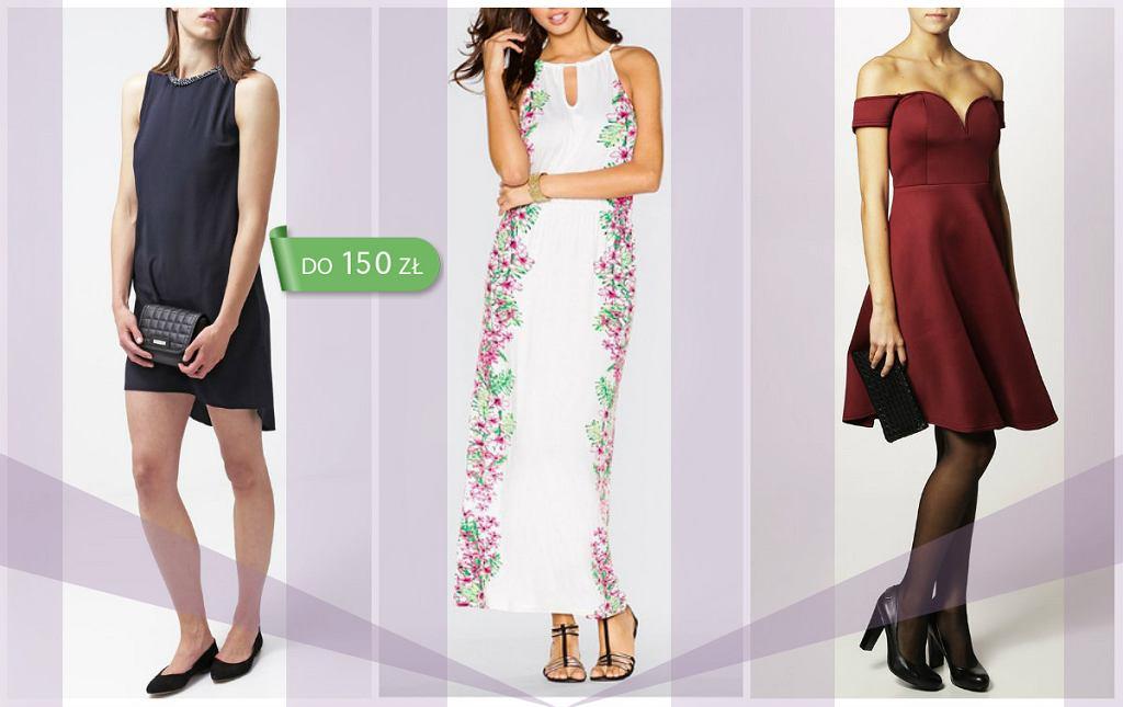 9c7f7a42b2571 Sukienki na wesele do 150 zł [18 MODELI]