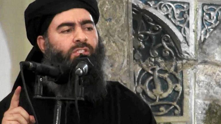 Abu Bakr al-Bagdadi, przywódca IS