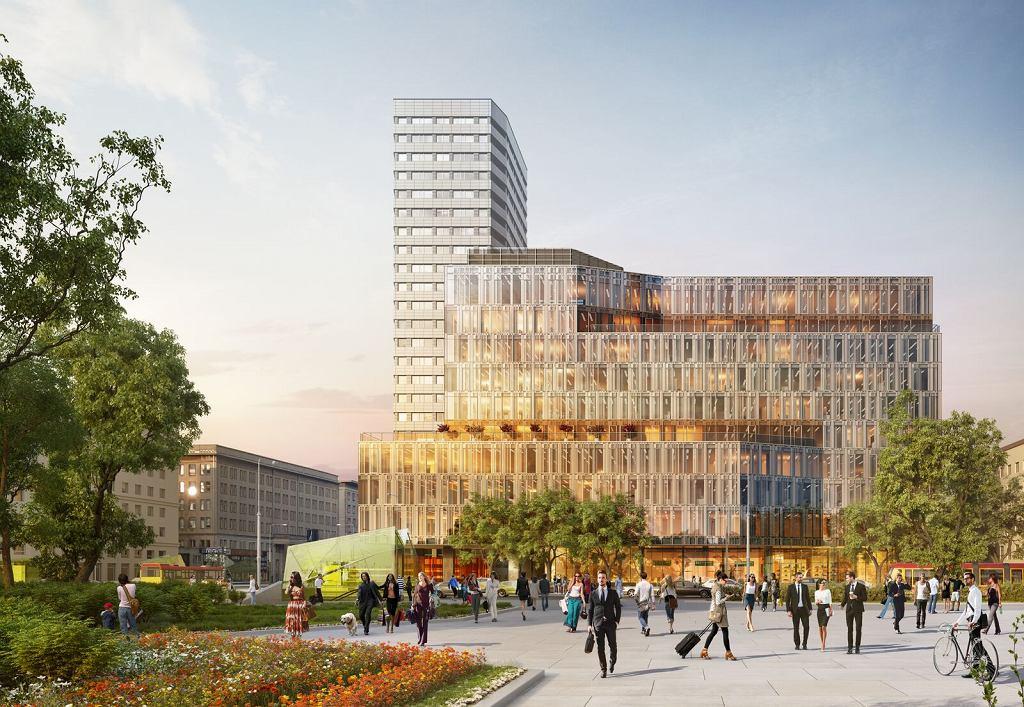 Wizualizacja inwestycji Centrum Marszałkowska