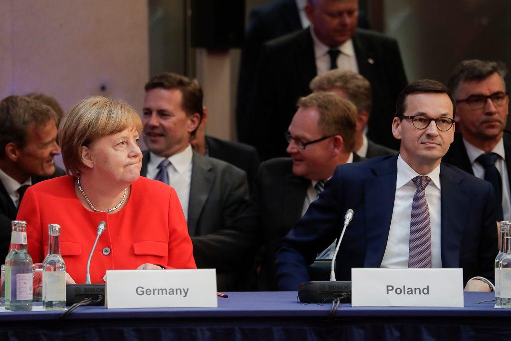 Z listu Angeli Merkel ma wynikać, że 14 państw zgodziło się dać azyl migrantom